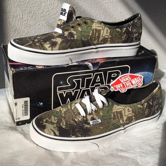 955dfd7f1cf31f vans authentic(star wars)boba fett camo